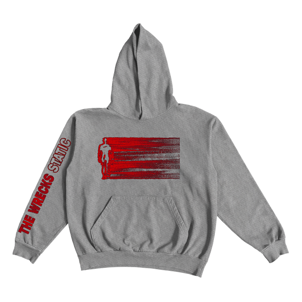 The Wrecks - Gray Static Hoodie
