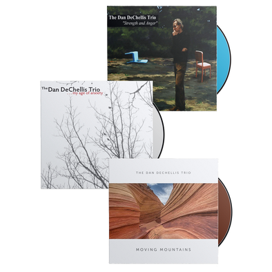 The Dan DeChellis Trio - My Age of Anxiety, Strength and Anger, & Moving Mountains CD Bundle