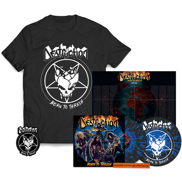 Destruction - Born To Thrash 2LP Vinyl Bundle