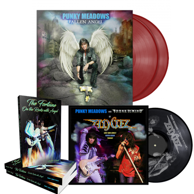 Angel - Lost and Lonely/Never Again Vinyl + Punky Meadows - Fallen Angel Vinyl + The Fortune: On the Rocks with Angel (JUST RELEASED)