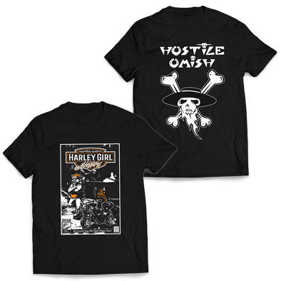 HOSTILE OMISH - Harley Pig Shirt