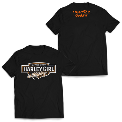 HOSTILE OMISH - Harley Girl Shirt