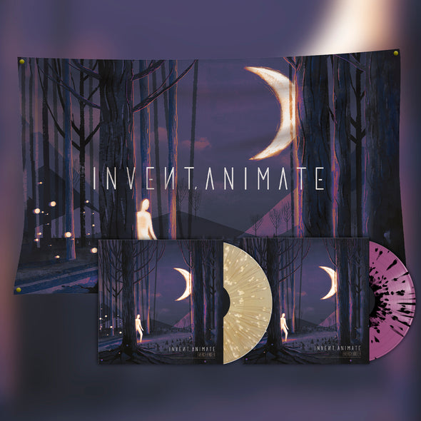 Invent Animate - Everchanger Both Vinyl + Wall Flag Bundle (Sol & Luna)