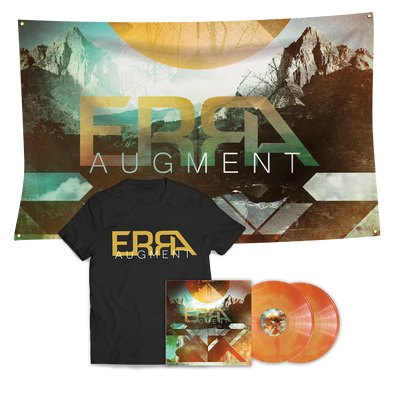 ERRA - Augment Orange Galaxy 2LP Vinyl Mega Bundle