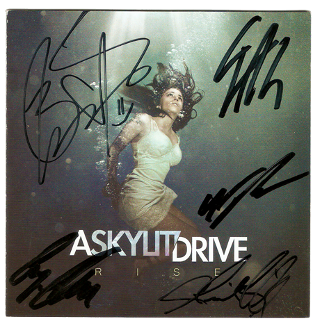 A Skylit Drive (Autographed) Rise CD Booklet
