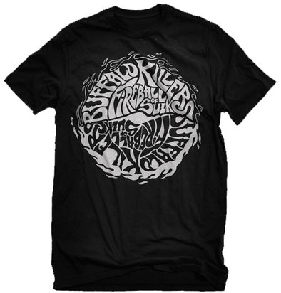 "Buffalo Killers Fireball Of Sulk ""Black Logo"" Shirt"