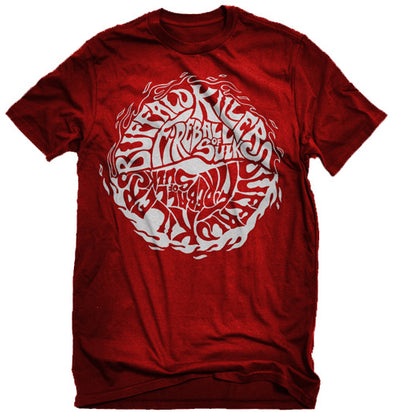"Buffalo Killers Fireball Of Sulk ""Red Logo"" Shirt"