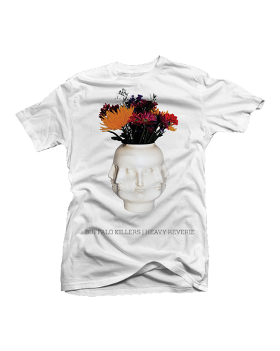 "Buffalo Killers ""Heavy Reverie"" White Shirt"