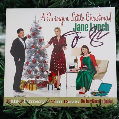 Jane Lynch - A Swingin' Little Christmas! Autographed CD