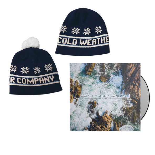 Cold Weather Company - Find Light CD + Beanie Bundle