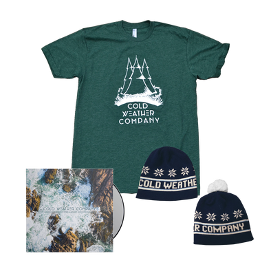 Cold Weather Company - Find Light CD + Shirt + Beanie Bundle *Pre-Order*