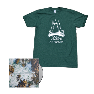 Cold Weather Company - Find Light CD + Shirt Bundle *Pre-Order*