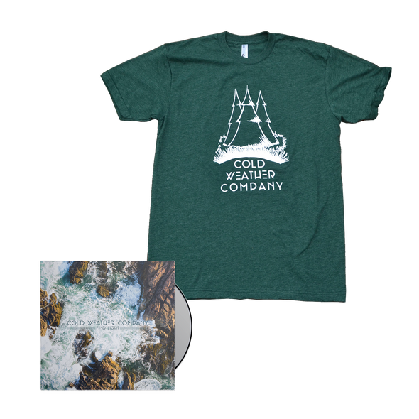 Cold Weather Company - Find Light CD + Shirt Bundle
