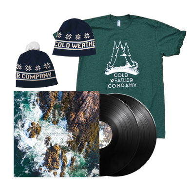 Cold Weather Company - Find Light 2LP + Shirt + Beanie Bundle