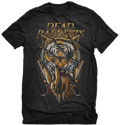 Dead Rabbitts Tiger Shirt (Black)
