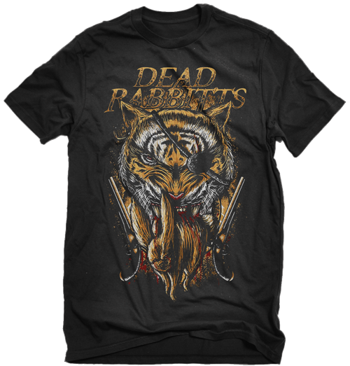 Dead Rabbits Tiger Shirt (Black)