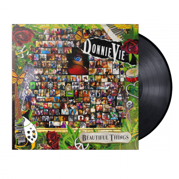 "Donnie Vie ""Beautiful Things"" Standard Vinyl Black"