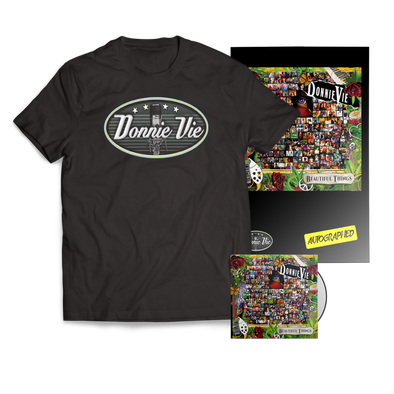 "DONNIE VIE ""BEAUTIFUL THINGS"" CD BUNDLE"