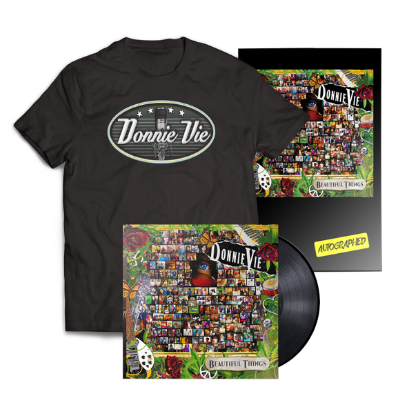 "DONNIE VIE ""BEAUTIFUL THINGS"" LP BUNDLE"