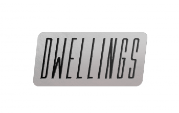 "Dwellings ""Logo"" Enamel Pin"