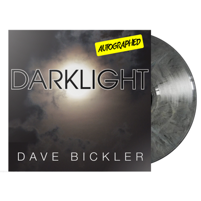"Dave Bickler - ""Darklight"" (AUTOGRAPHED) LTD Edition Gray Marble"