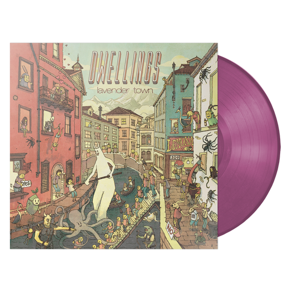"Dwellings ""Lavender Town"" Opaque Lavender Vinyl + Pill Boys Bundle"