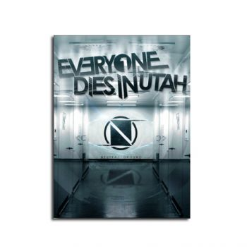 Everyone Dies In Utah Netural Ground Album Poster 11 x 17