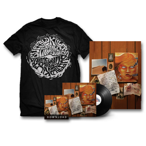 "Buffalo Killers Fireball Of Sulk ""Black Logo"" Bundle"