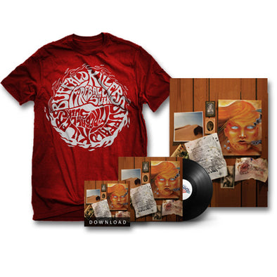 "Buffalo Killers Fireball Of Sulk ""Red Logo"" Bundle"