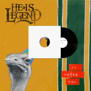 "He Is Legend ""It Hates You"" Vinyl Test Pressing (Double LP)"
