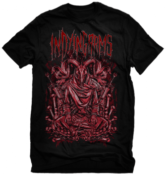"In Dying Arms  ""Evil Ram"" Shirt"