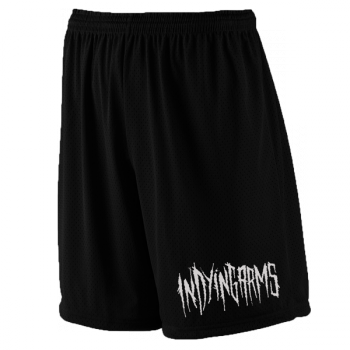 In Dying Arms  Mesh Logo Shorts