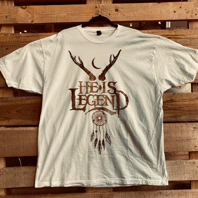 Vintage He Is Legend Antler Tee