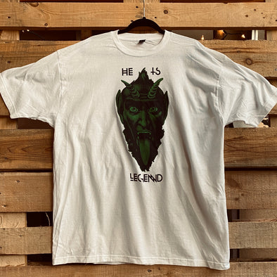 Vintage He Is Legend Green Man Tee