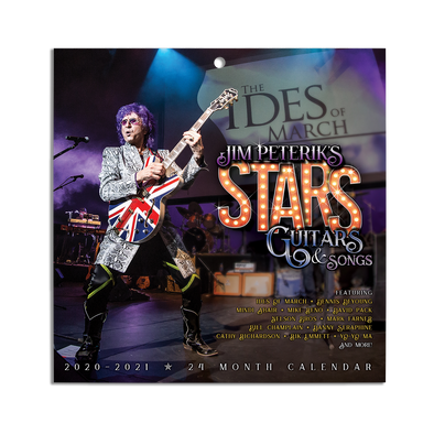 Jim Peterik - Stars, Guitars & Songs 2020-21 Calendar