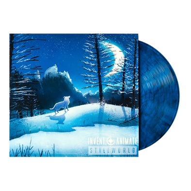 "Invent, Animate ""Stillworld"" Blue/Black Marble Vinyl"