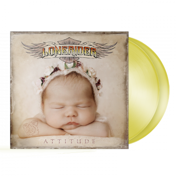 "Lonerider  ""Attitude"" 2LP GOLD"