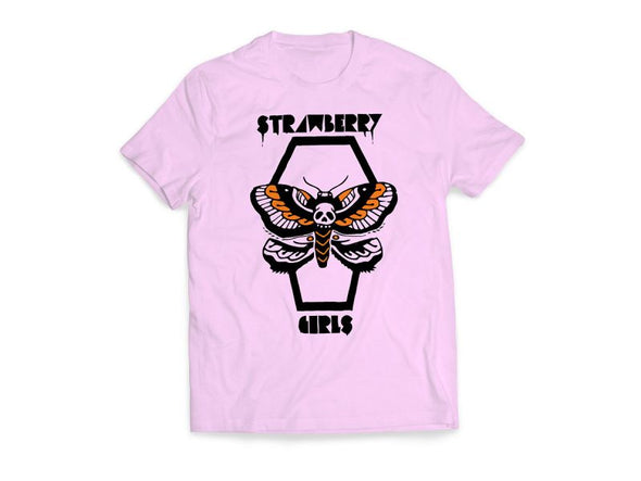 "Strawberry Girls ""Moth"" Tee"