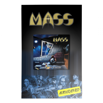 MASS - When 2 Worlds Collide Signed Poster