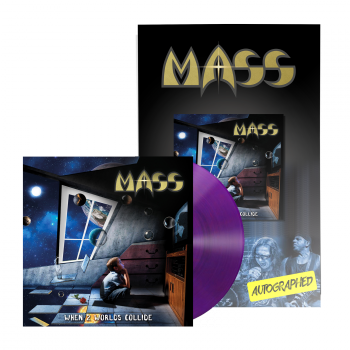 MASS - When 2 Worlds Collide LP Poster Bundle