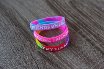I Set My Friends on Fire Wristband Bundle