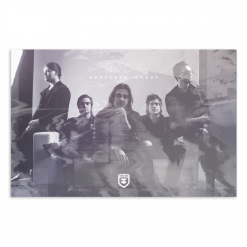 Northern Ghost 11x17 Band Poster