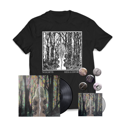 "NIIGHTS - ""Hellebores"" Black Vinyl Bundle"