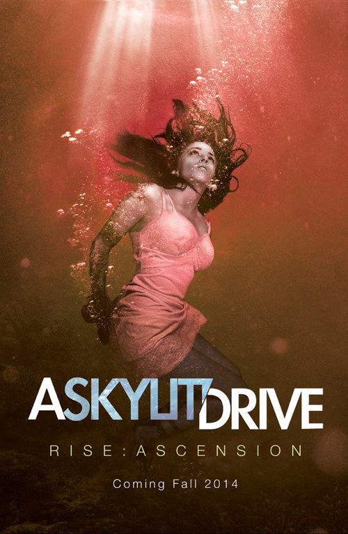 "A Skylit Drive ""Red"" Rise: Ascension Poster"