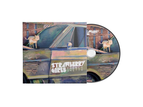 "Strawberry Girls ""French Ghetto"" Digipak with NEW ART"