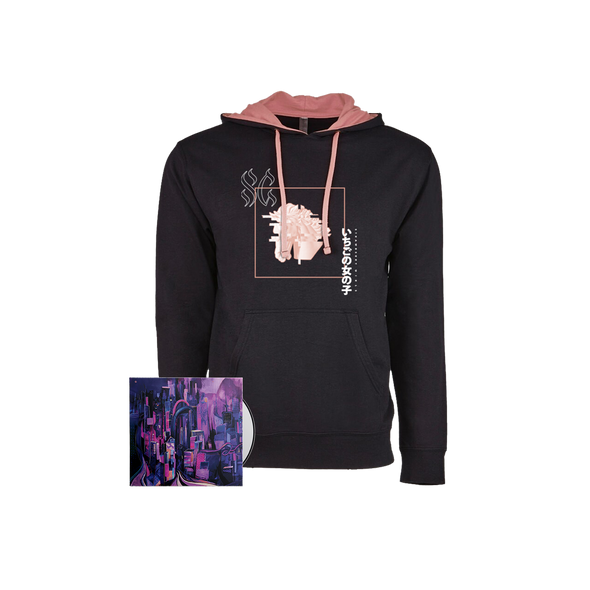 "Strawberry Girls ""Tasmanian Glow"" Glitch Horse Hoodie Bundle"