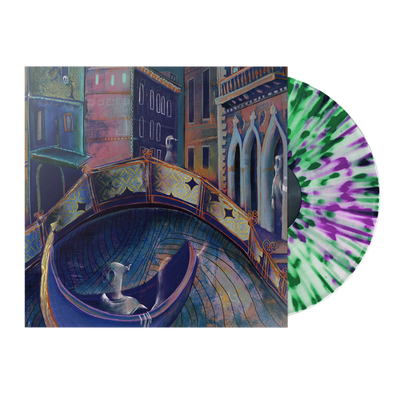 "Strawberry Girls ""Italian Ghosts"" Clear Vinyl with Violet/Green Splatter"