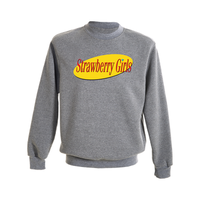 "Strawberry Girls ""Strawfeld"" Crewneck"