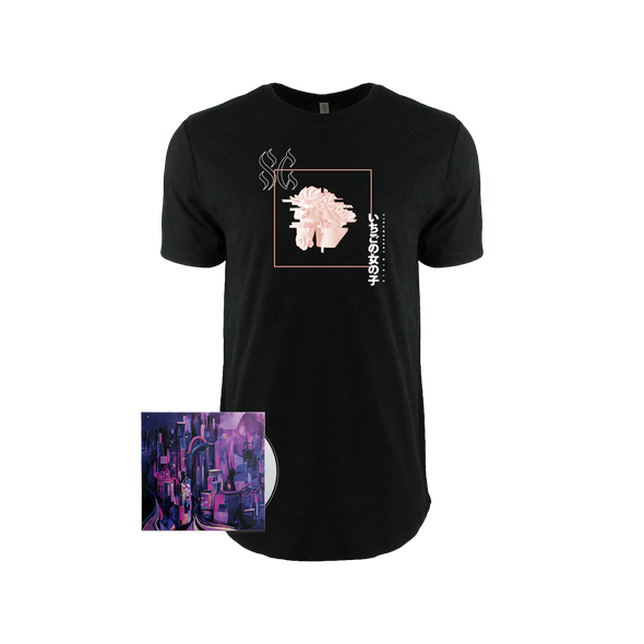 "Strawberry Girls ""Tasmanian Glow"" Glitch Horse Drop Cut Tee Bundle"