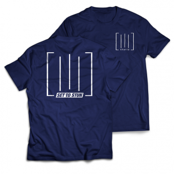 "SET TO STUN ""Stariiia"" Navy Shirt"